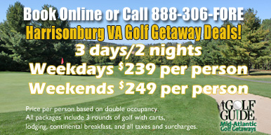 Harrisonburg Golf Getaways