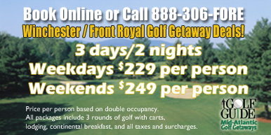 Winchester/Front Royal Golf Getaways