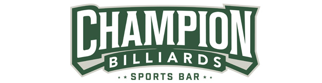 Champion Billiards Frederick logo